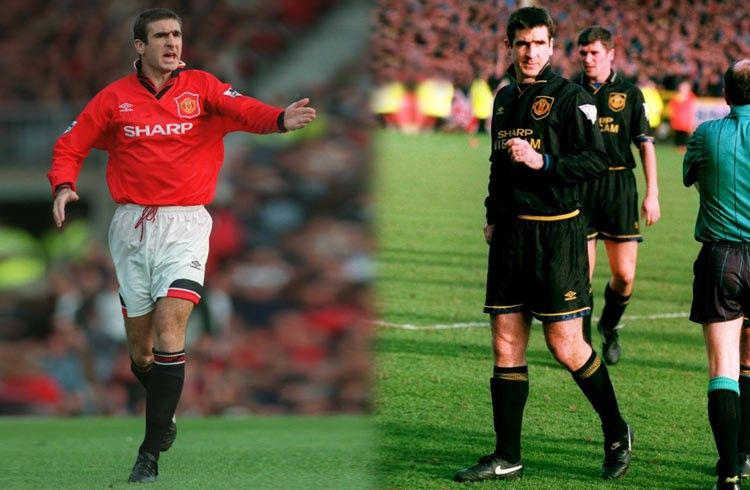 Cantona, maglie Manchester United