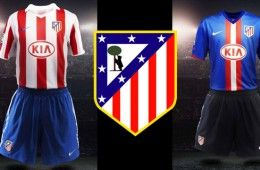 Maglie Atletico Madrid 2010-11