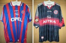 Maglie Bayern Monaco 1996-1998