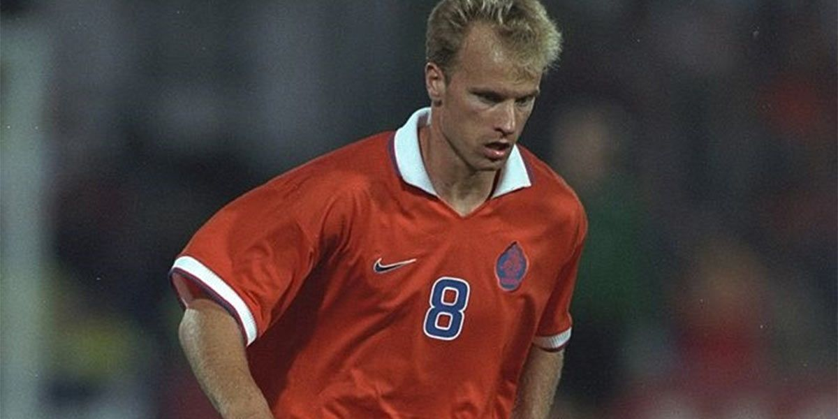 Bergkamp maglia Olanda 1997 Nike