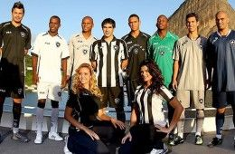 Presentazione maglie Botafogo 2010