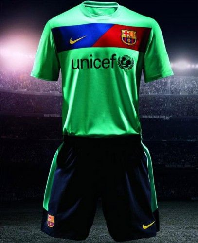 Maglia away Barcellona 2010-11
