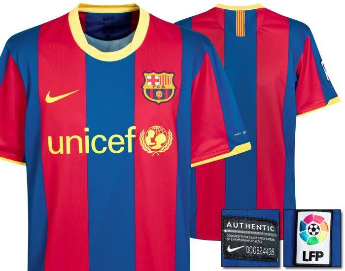Maglia Barcellona Nike 2010-11