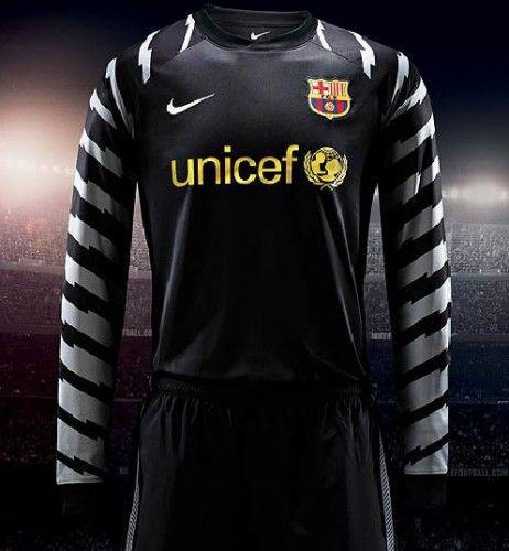 Maglia portiere Barcellona 2010-11