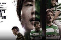 Presentazione maglia Celtic Glasgow 2010-11