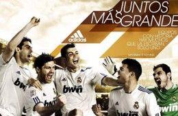 Promo Adidas Real Madrid kit