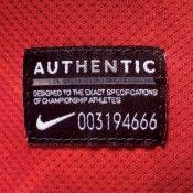 Etichetta Nike Authentic