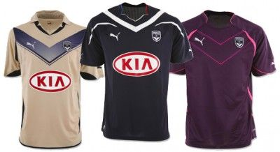 Bordeaux Puma kit 2010-2011