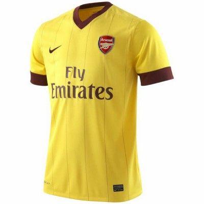 Maglia Arsenal da trasferta 2010-2011 Nike