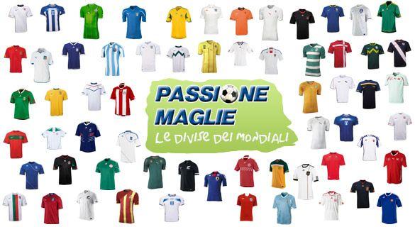Le maglie dei Mondiali 2010
