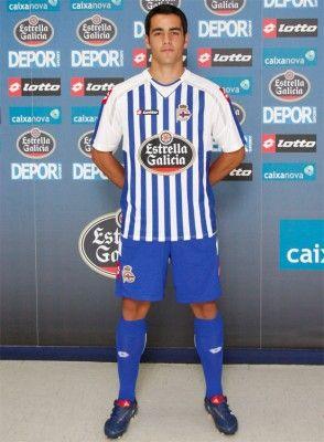 Prima maglia Deportivo La Coruna 2010-11