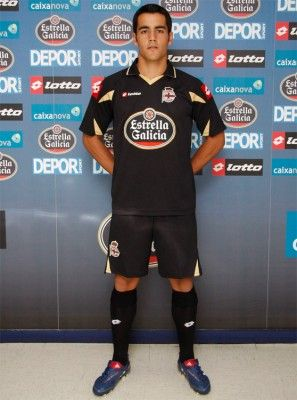 Seconda maglia Deportivo La Coruna 2010-11