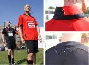 Dettagli maglia Rennes 2010-2011