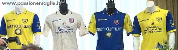 Maglie Chievo Verona 2010-2011