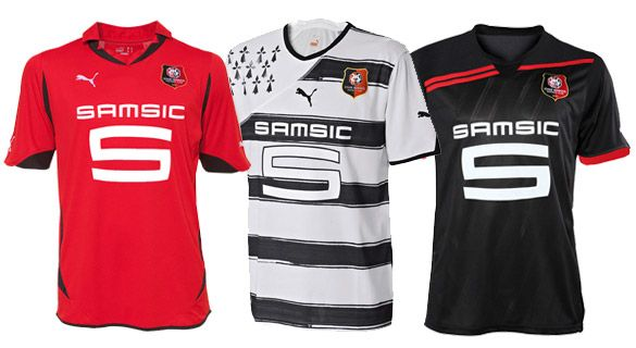 Divise Rennes 2010-2011
