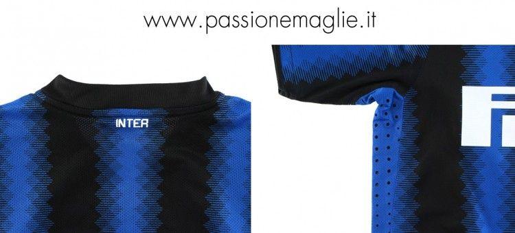 Inserti in mesh maglia Inter
