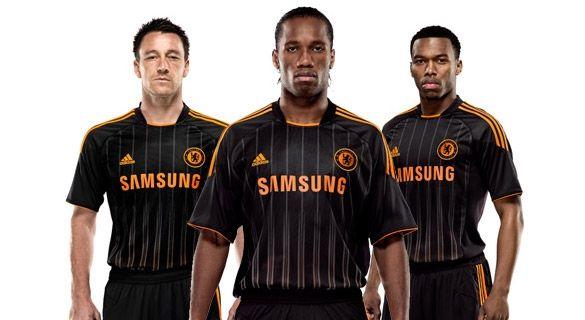 Kit away Chelsea 2010-2011