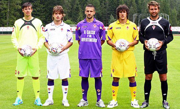 Divise Fiorentina 2010-11