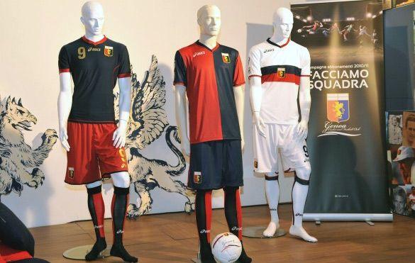 Kit Genoa 2010-2011 Asics