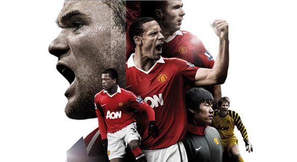 Kit home Manchester United 2010-2011
