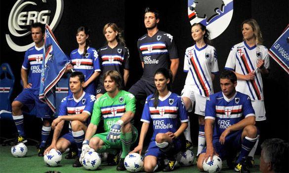 Maglie Sampdoria 2010-2011