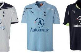 Divise Tottenham 2010-2011