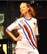 Seconda maglia bianca Sampdoria 2010-11