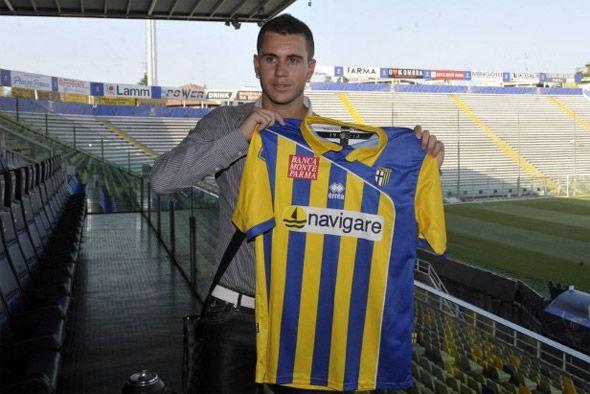 Quarta maglia del Parma 2010-2011