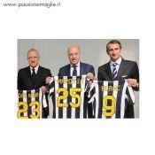 Stile nomi e numeri Juventus