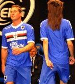 Parte posteriore maglia Sampdoria