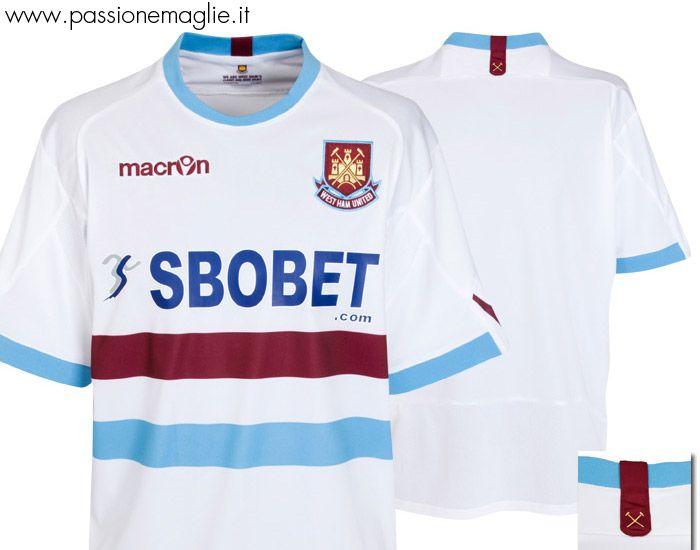 Seconda maglia West Ham 2010-11