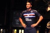 Terza maglia blu notte Sampdoria