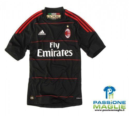 Terza maglia nera Milan 2010-2011