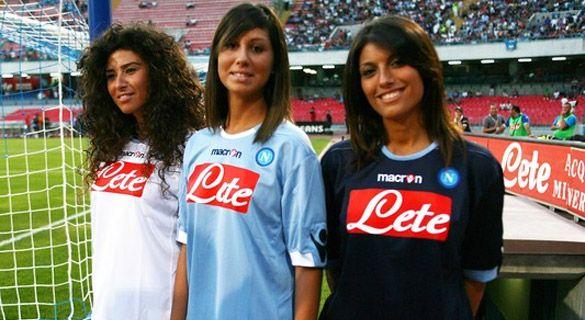 Le nuove maglie del Napoli 2010-2011