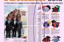 Articolo Gazzetta dello Sport su Passione Maglie