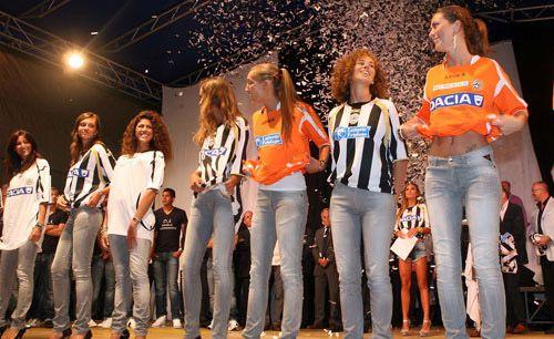 Presentazione maglie Udinese