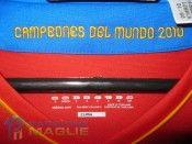 Interno colletto maglia Spagna 2010