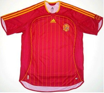 Maglia Spagna 2006-2007