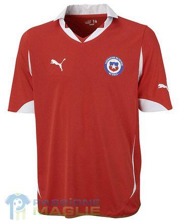 Prima maglia Cile 2010-2011