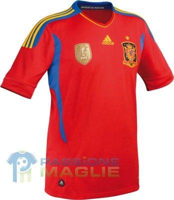 Maglia Spagna 2011-2012 Adidas