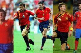 Maglie Spagna 1982-2011
