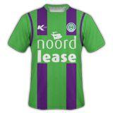 Seconda maglia del Groningen