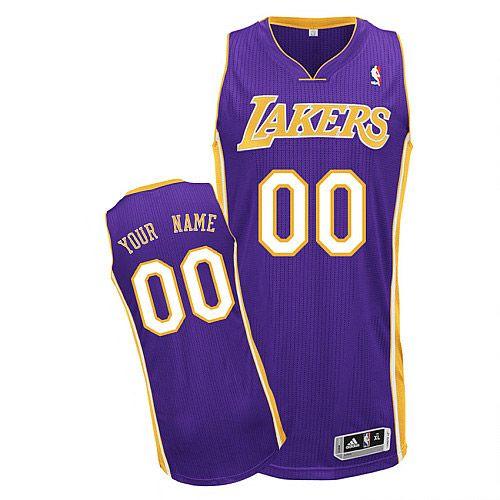 Tutte Le Canotte Maglie Da Basket Della Nba 2010 2011: La Canotta Viola Away Dei Los Angeles Lakers