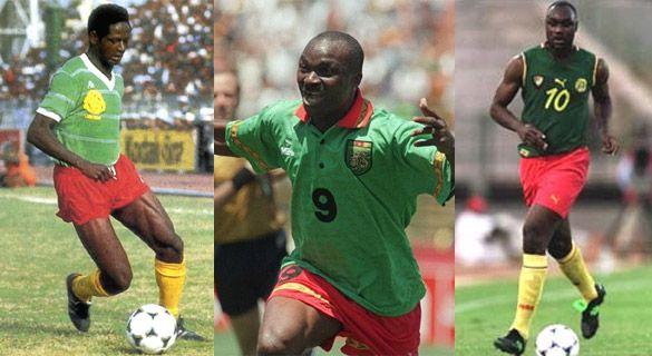 Storia maglie Camerun