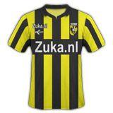 Prima maglia giallonera Vitesse