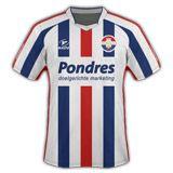 Prima divisa Willem II 2010-2011