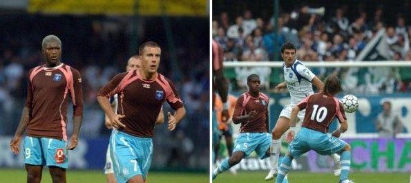 Marsiglia gioca con maglia Auxerre 2007