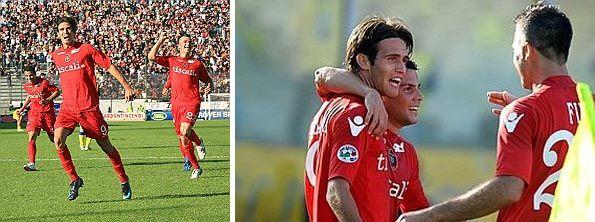 Cagliari Chievo 2008 maglia rossa