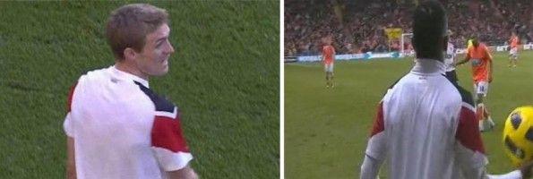 Fletcher Evra maglia senza nome United