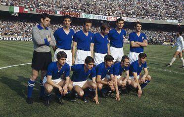 Italia-Bulgaria 1968 a Napoli